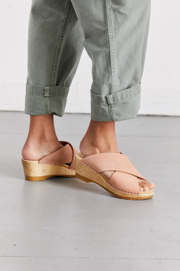Frida Clog Mid-Wedge