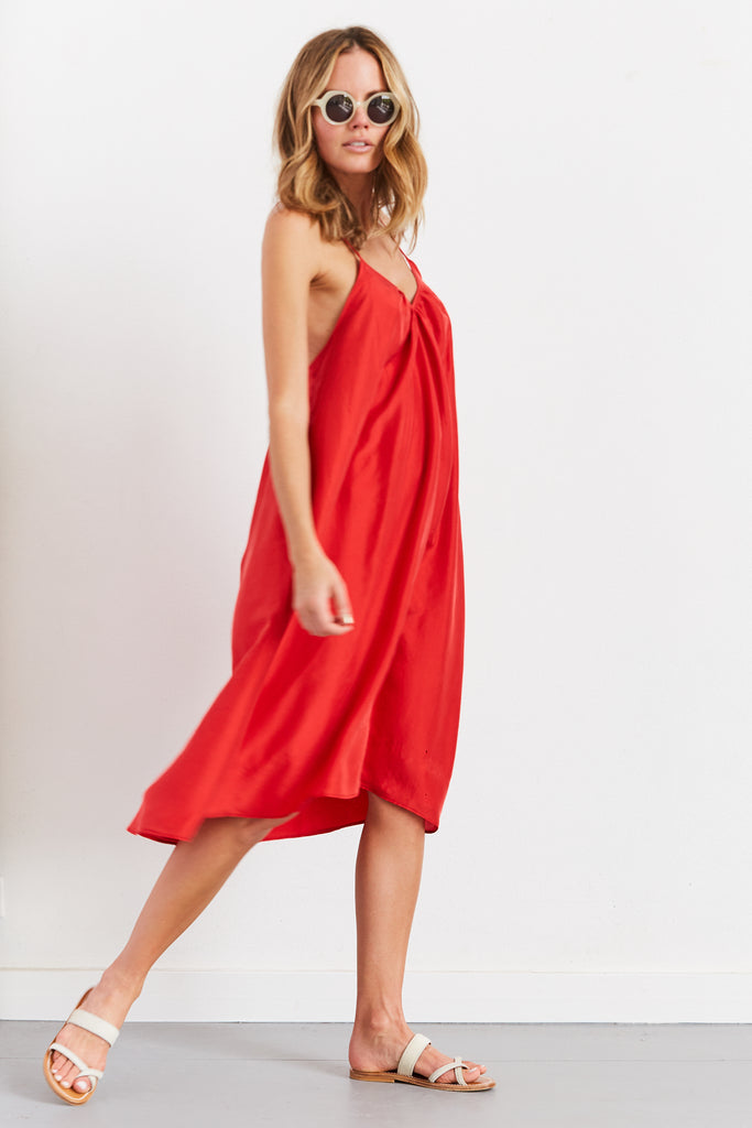 V Neck Slip Dress