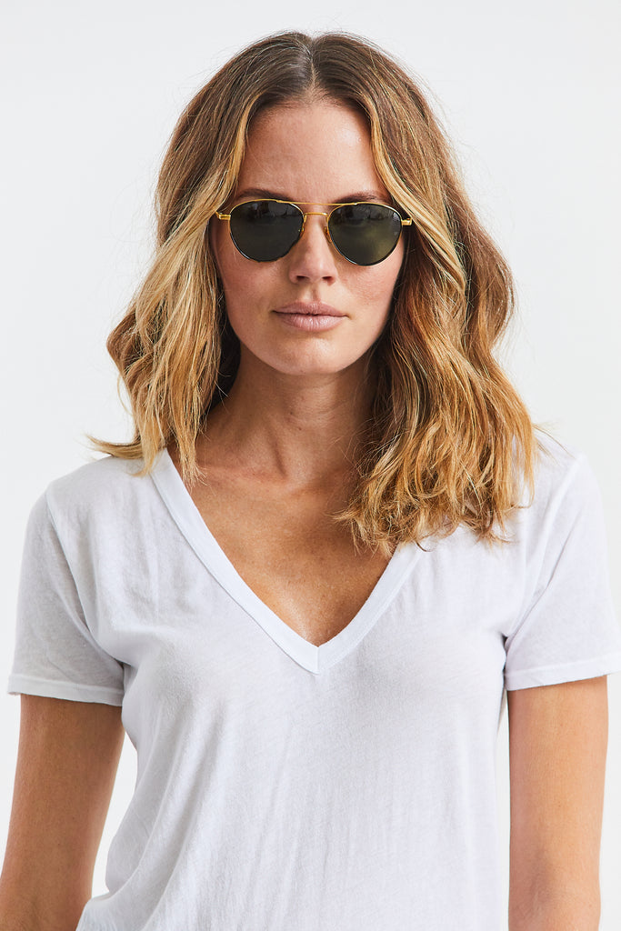 Tortoise Aviator Sunglasses