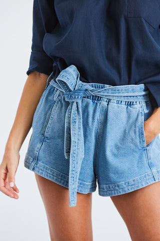 Denim Runner Short