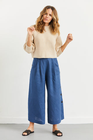 Merel Funnel Neck Crop