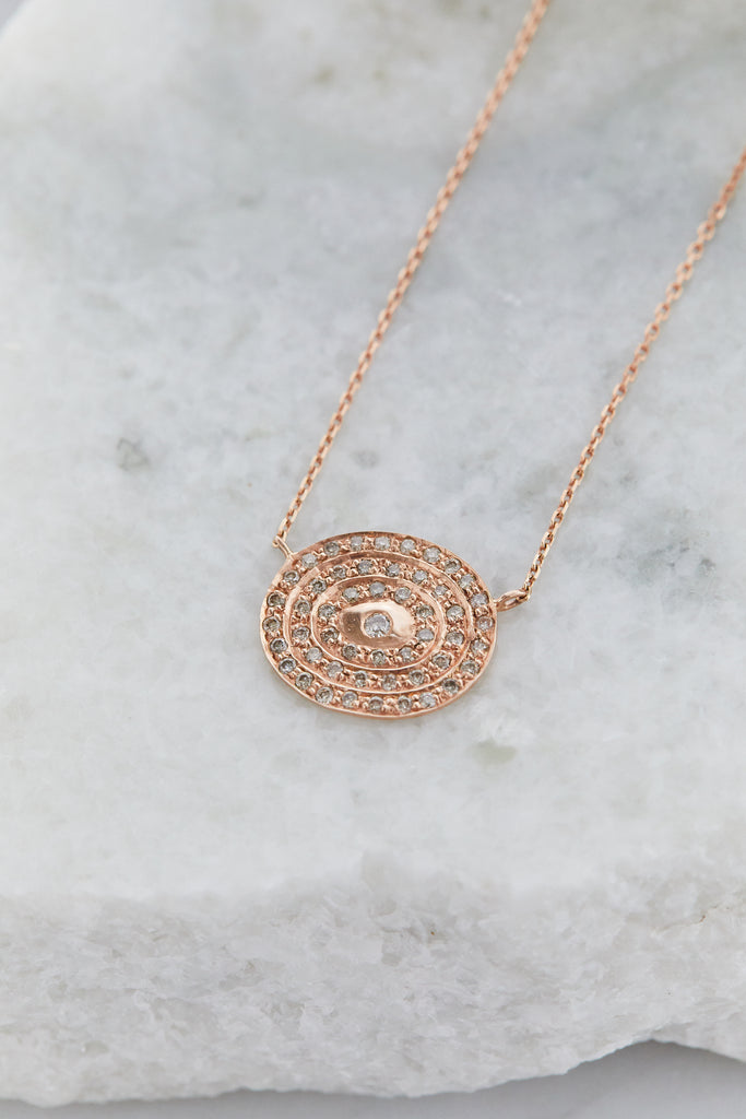 Infinity Necklace 51 Diamonds