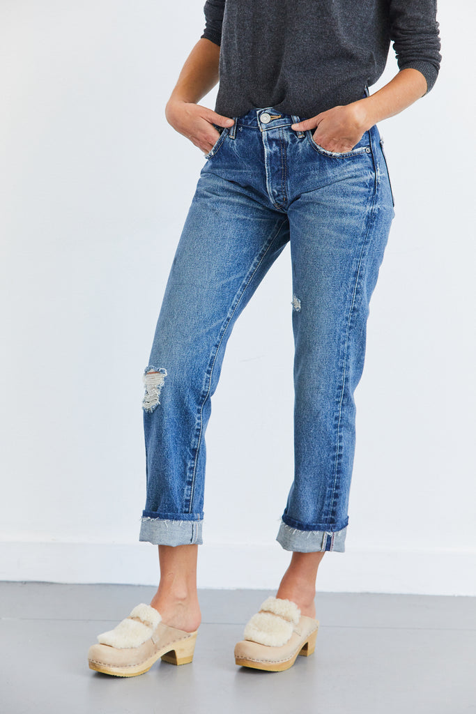 Celina Cropped Straight