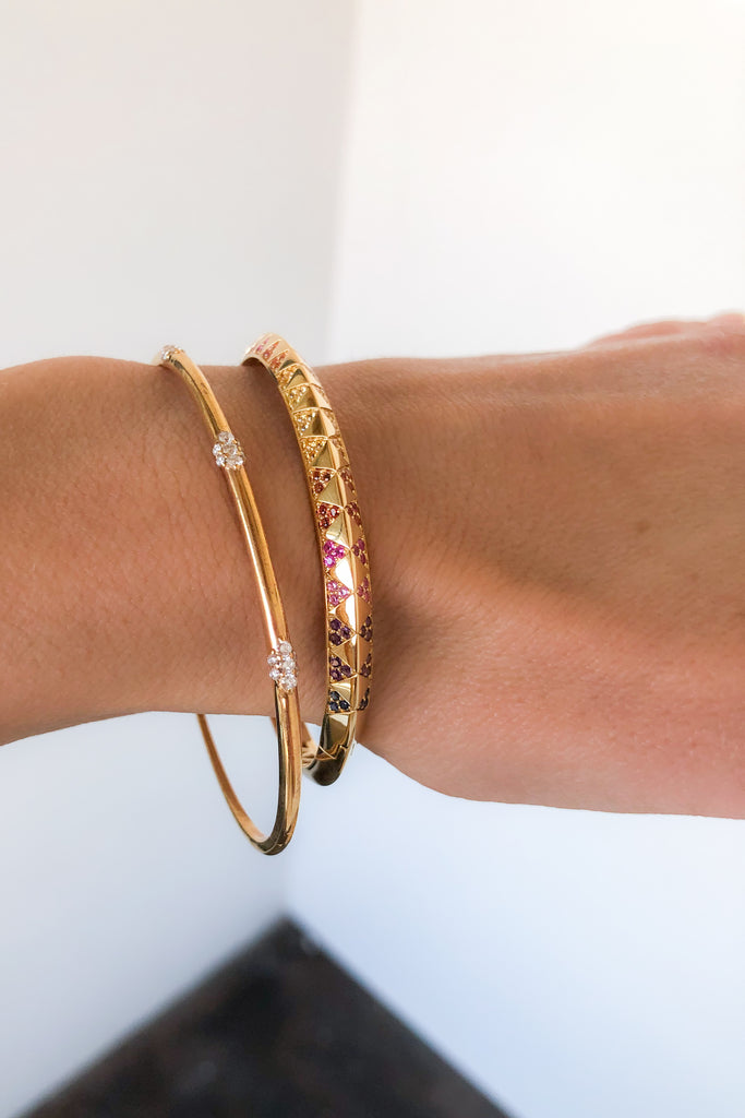 Sunset Talisman Bangle
