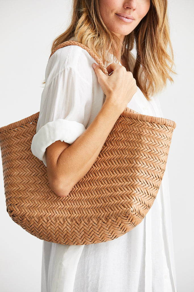 Nantucket Basket Bag, Natural