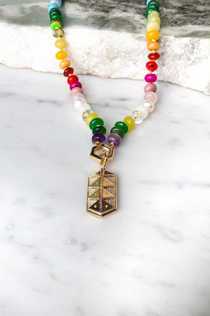 Sunset Talisman Charm