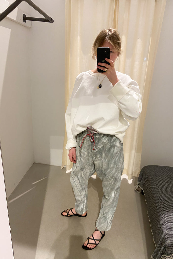 Marbled Cord Pants