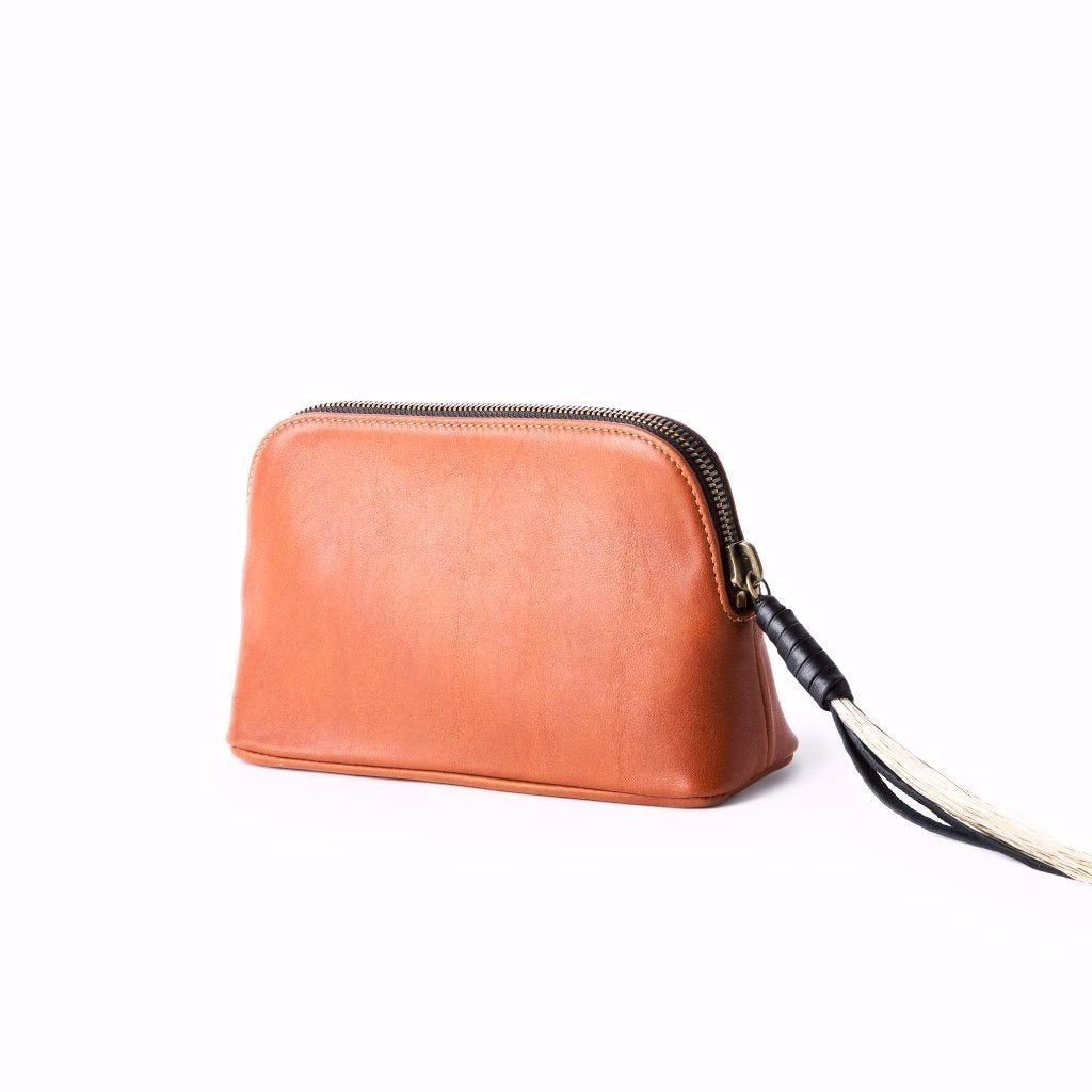 East West Pouch, Tan