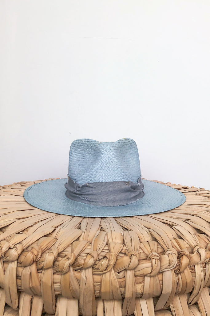 Flat Brim Summer Hat
