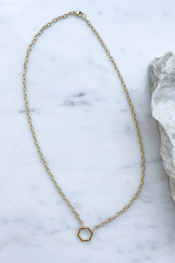 "18"" Gold Foundation Necklace"