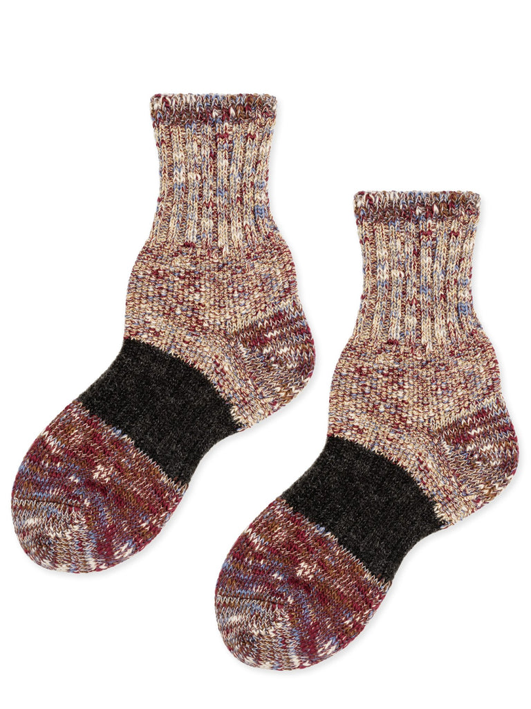 Sparkle Dapple Crew Sock, Shimmer Berry