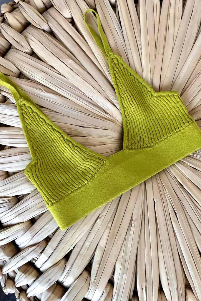 DODO BAR OR WILLA KNIT BRA SUNROOM