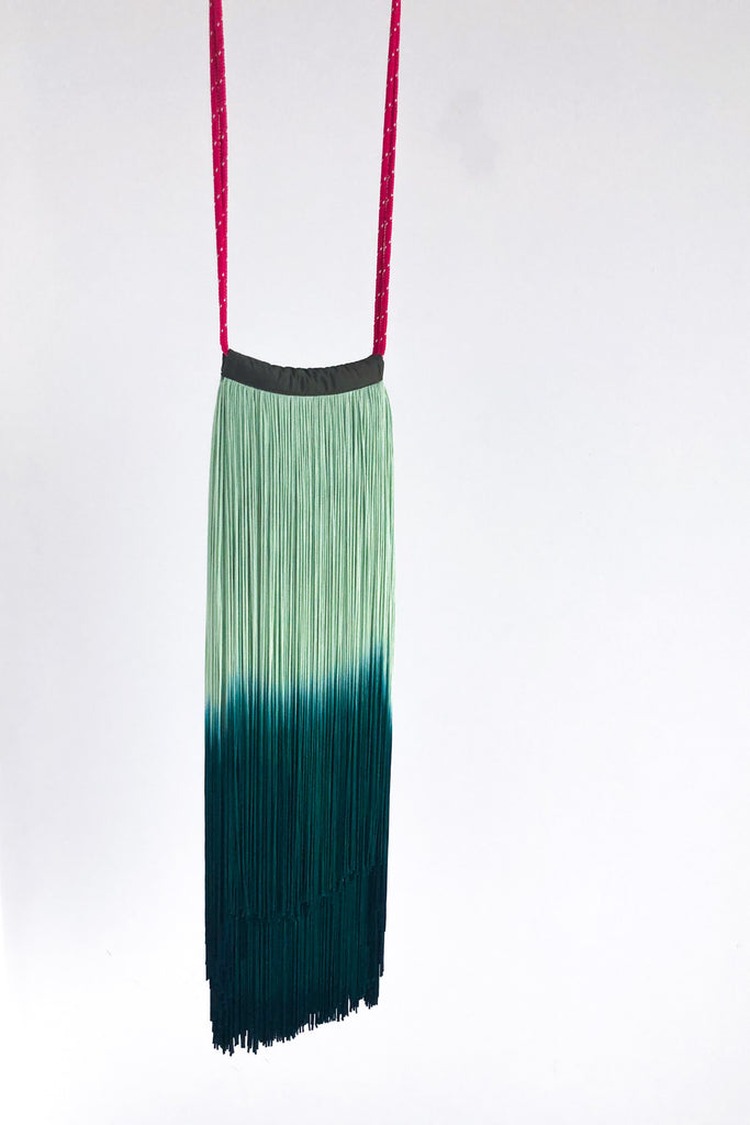 Cherie Green Dip Dye Bag