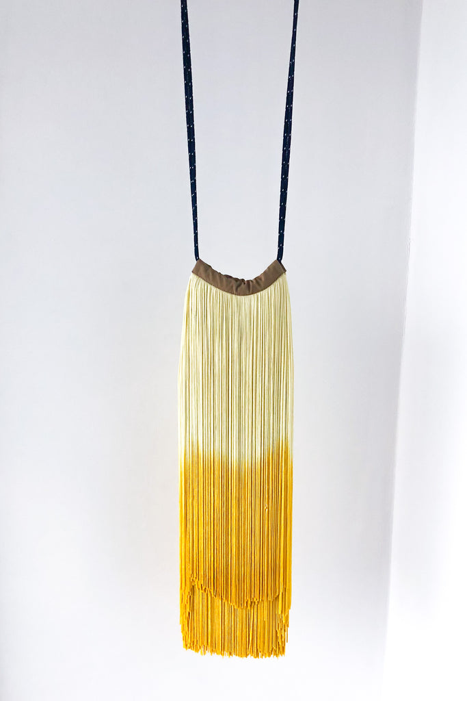 Cherie Yellow Dip Dye Bag