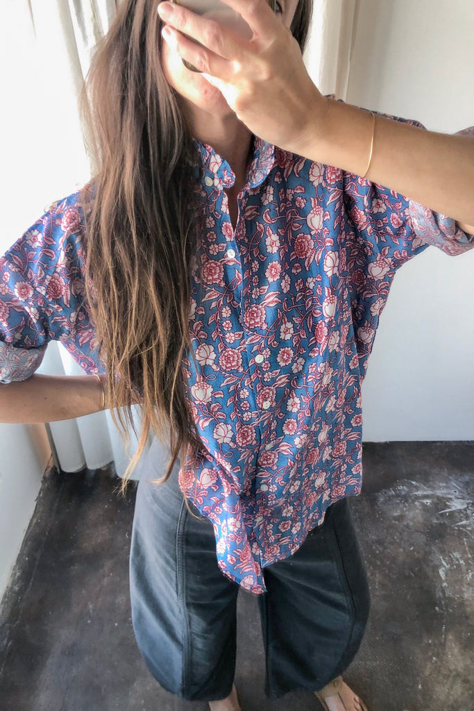 ALIX OF BOHEMIA SONNET BLOUSE SUNROOM