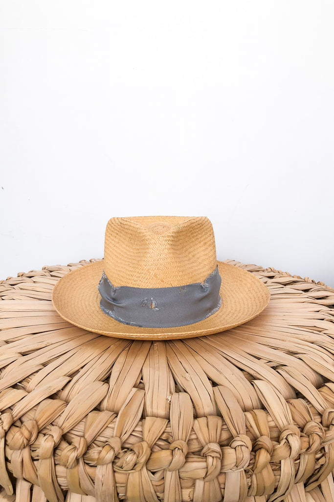 Turned Brim Summer Hat
