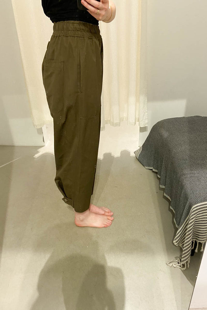 Lee Mathews Drill Pant Khaki Sunroom