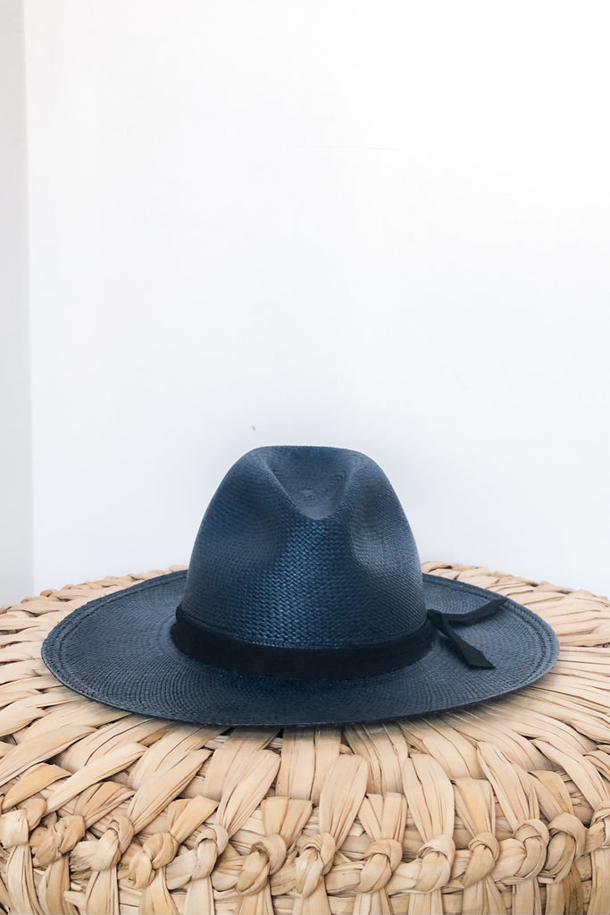 Frillo, Navy Panama Hat