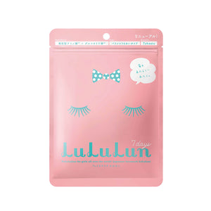 Lululun Face Mask - Pink 7 Sheets