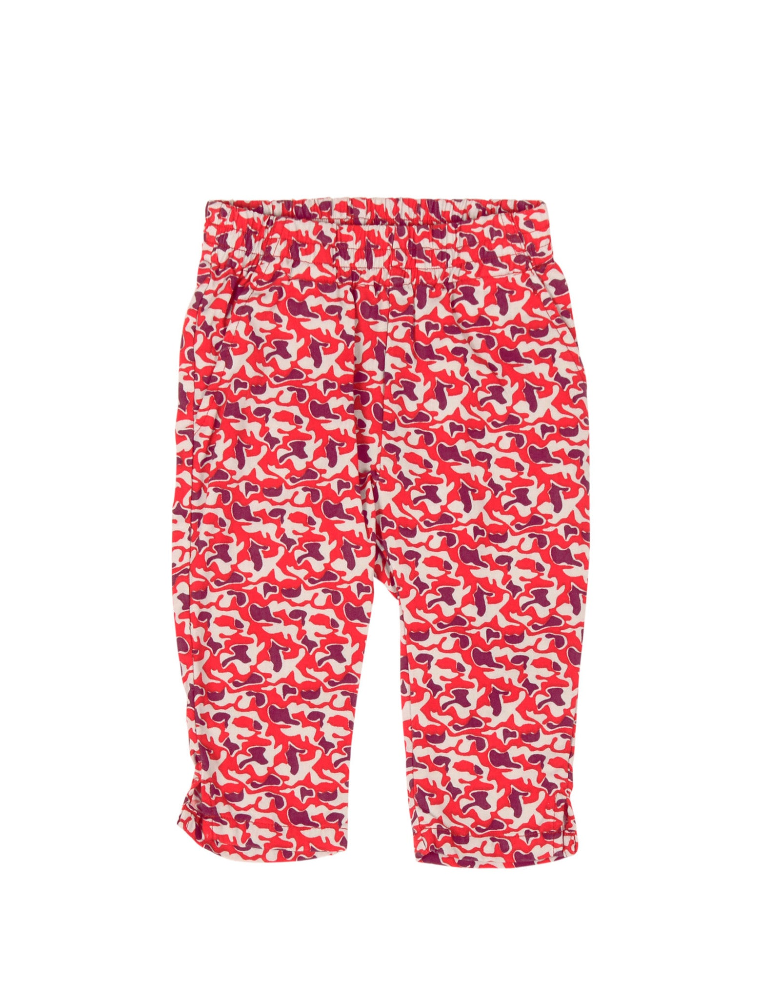 Caro Baby Pants Red Multi