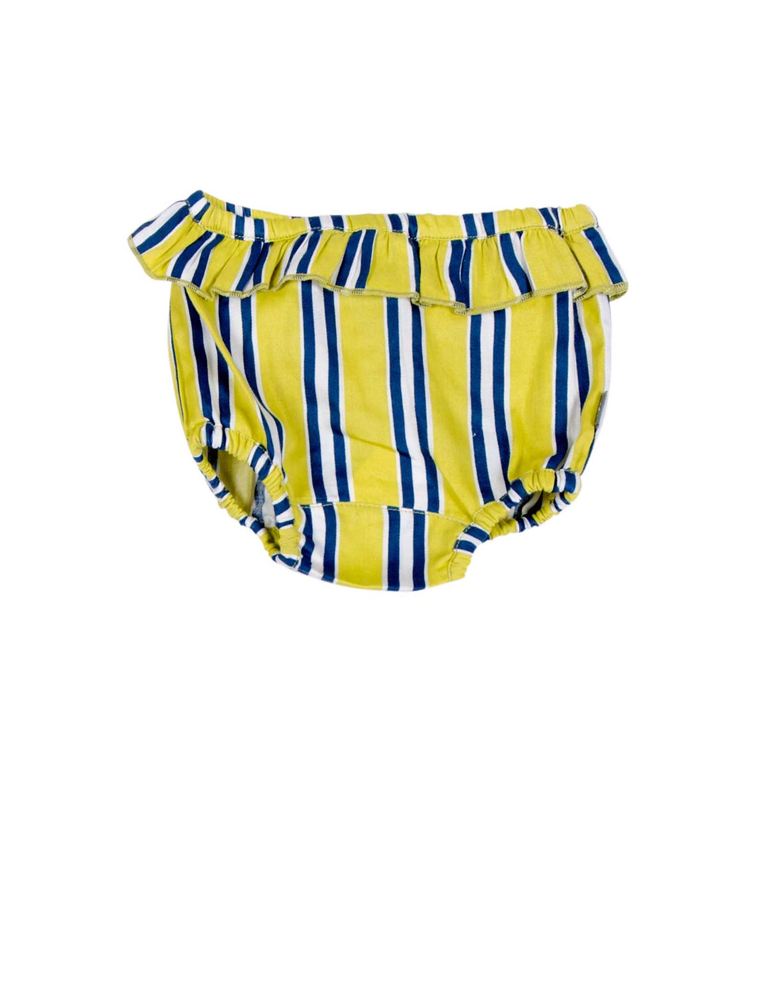 KIDSCASE CANDY STRIPED ORGANIC BLOOMERS