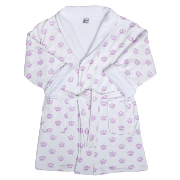 Princess Crown Bathrobe