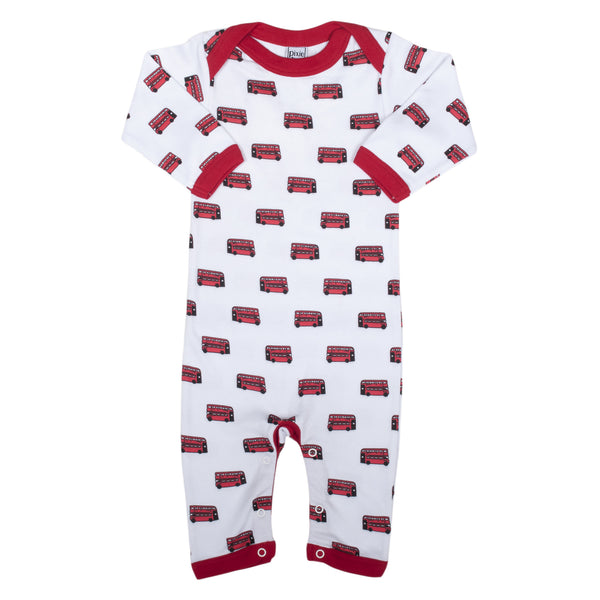London Bus Sleep Suit