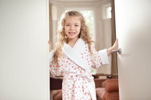 Pretty Hearts Bathrobe