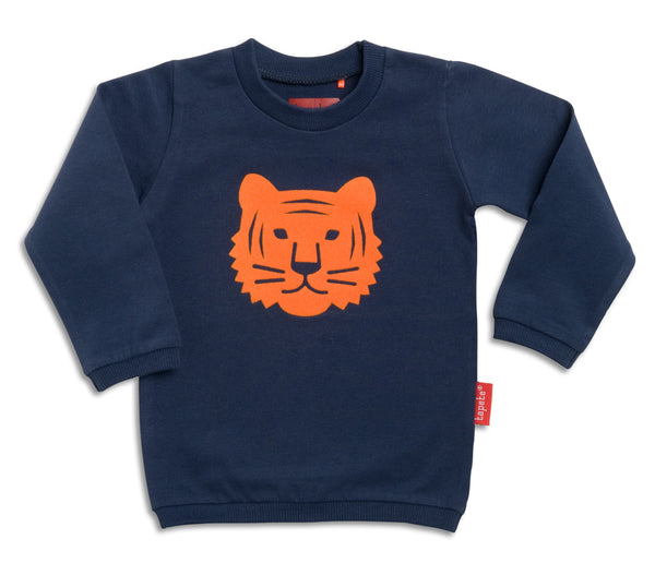 Orange Flock Tiger Jumper