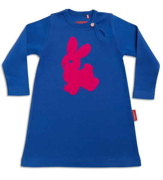 Dazzle Blue Easter Bunny Dress