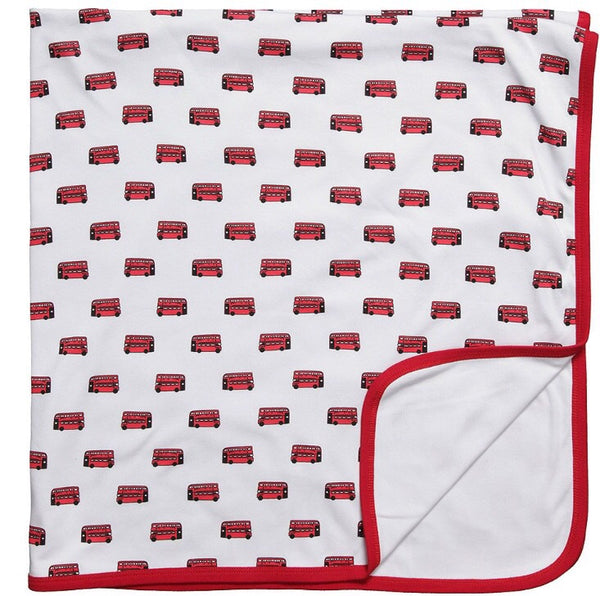 London Bus Blanket