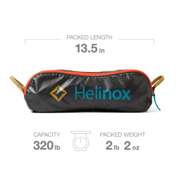 """""""Helinox's Chair One has all the good stuff—it's collapsible, it packs easily into its carrying case, and it supported a 6'4"""