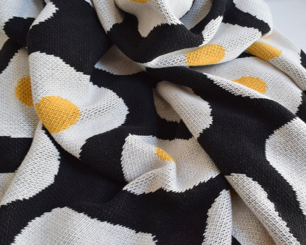 BLACK EGG BLANKET.