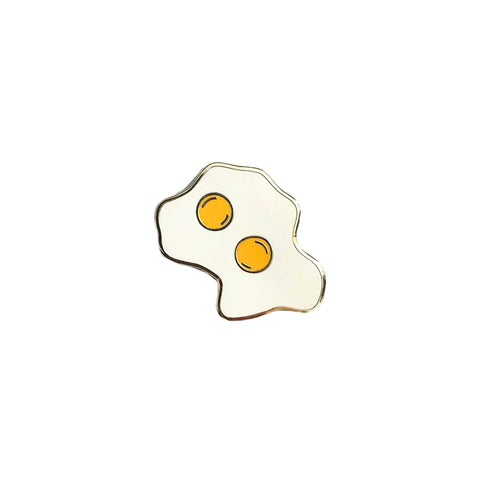 EGG ENAMEL PIN