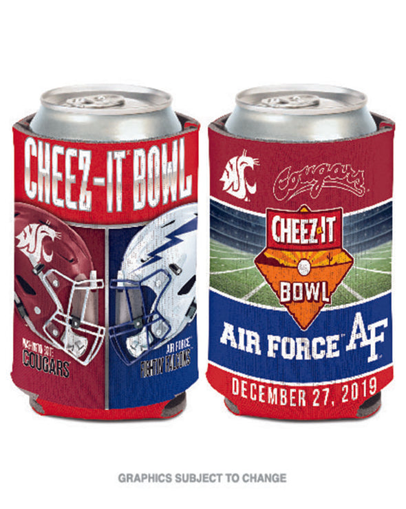 Air Force Falcons V Washington State Cougars 2019 Cheez-It Bowl Can Cooler