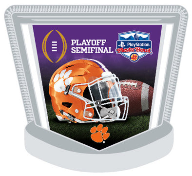 Clemson Tigers 2019 Fiesta Bowl Lapel Pin