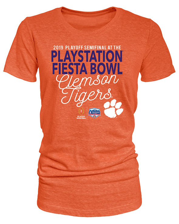 Clemson Tigers 2019 Fiesta Bowl Women's Short Sleeve T-Shirt