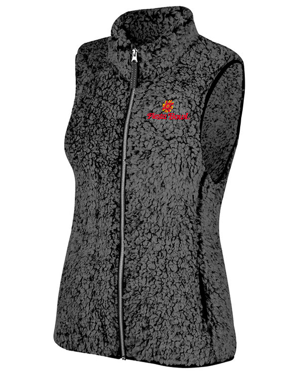 Fiesta Bowl Women's Sherpa Vest by Top of the World