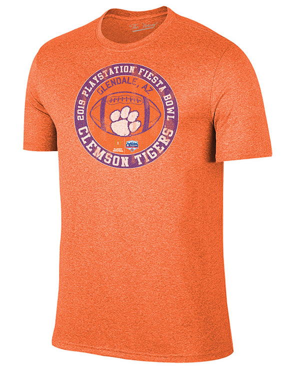 Clemson Tigers 2019 Fiesta Bowl Blended Short Sleeve T-Shirt