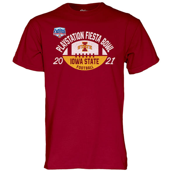 Iowa State Cyclones 2021 PlayStation Fiesta Bowl Short Sleeve T-Shirt