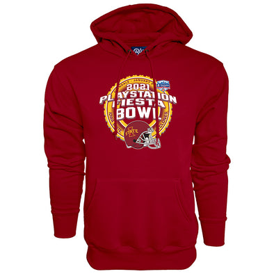 Iowa State Cyclones 2021 PlayStation Fiesta Bowl Team Hoodie