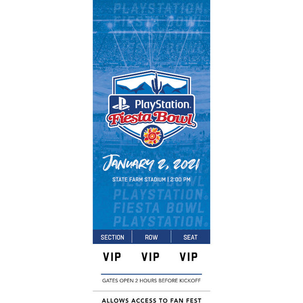 2021 Fiesta Bowl Commerative Ticket
