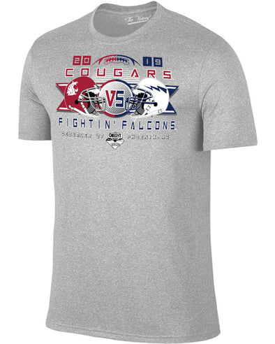 Air Force Falcons V Washington State Cougars 2019 Cheez-It Bowl Youth Short Sleeve T-Shirt