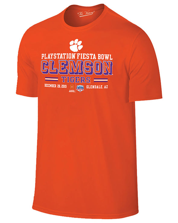 Clemson Tigers 2019 Fiesta Bowl Banner Short Sleeve T-Shirt