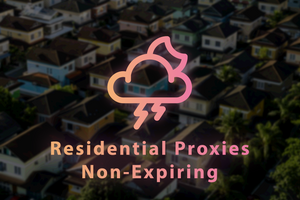 NON-EXPIRING Residential Proxy Data Plan