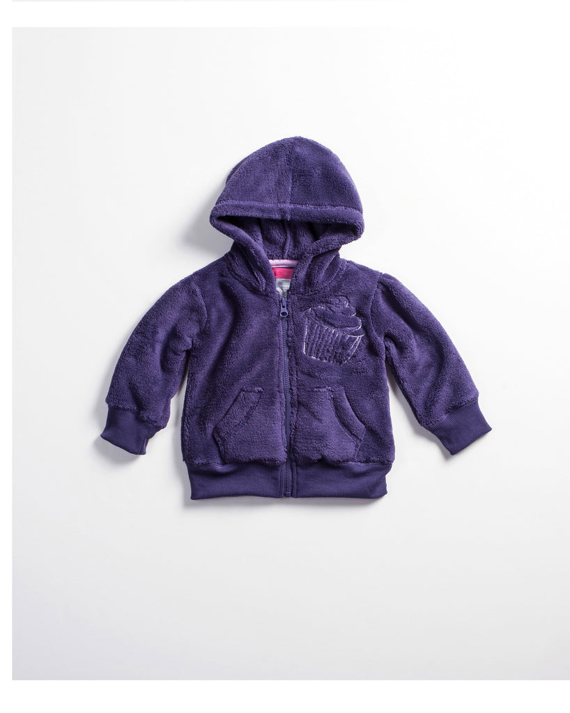 INFANT GIRLS PLUSH HOODY