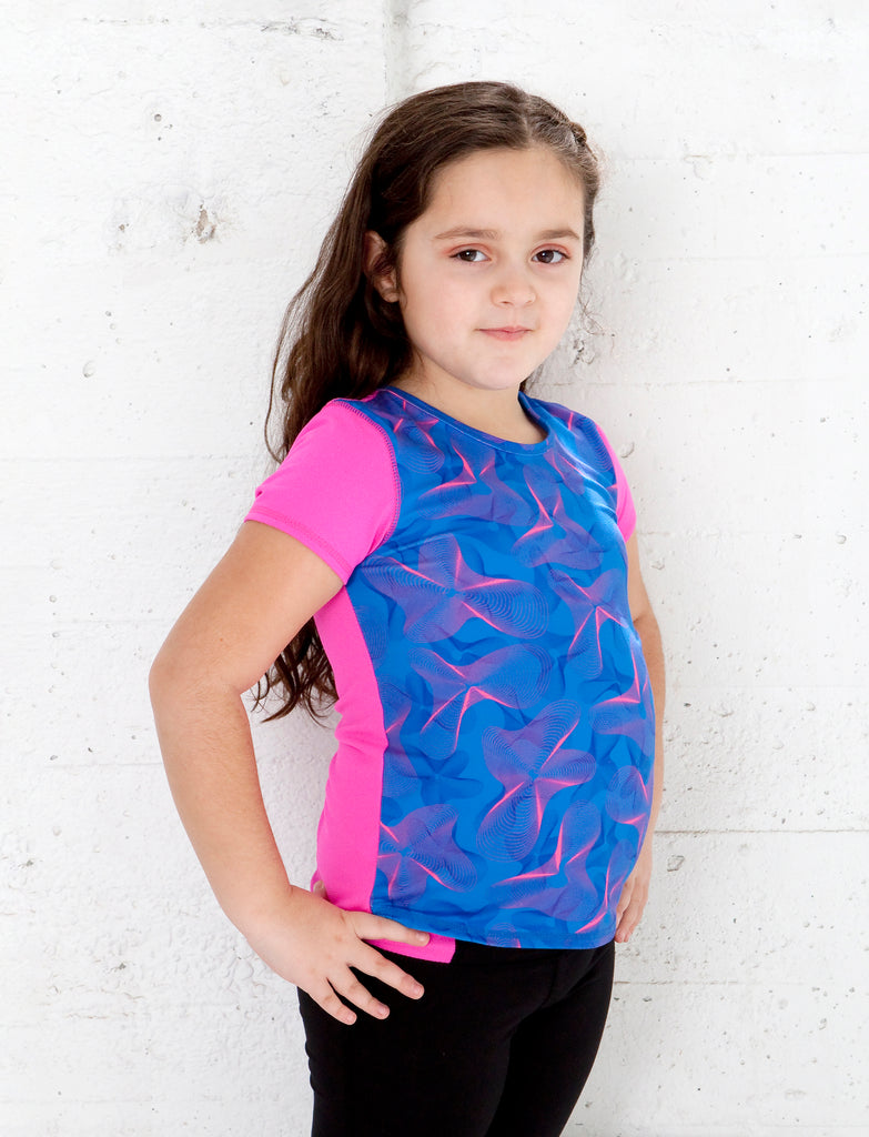 GIRLS 2-6 ACTIVE TEE