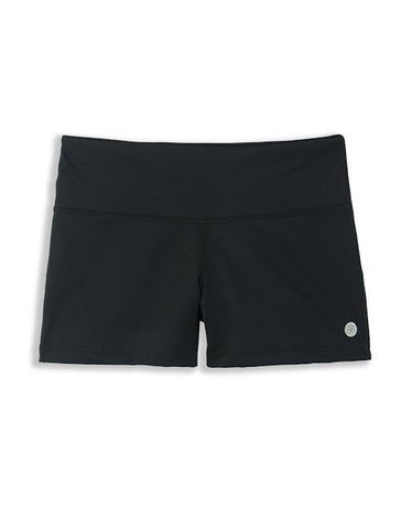 LADIES KNIT YOGA SHORTS