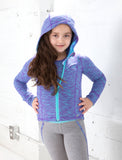 GIRLS 2-6 HOODED JACKET