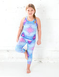 GIRLS 2-6 KALEIDOSCOPE CAPRI LEGGING